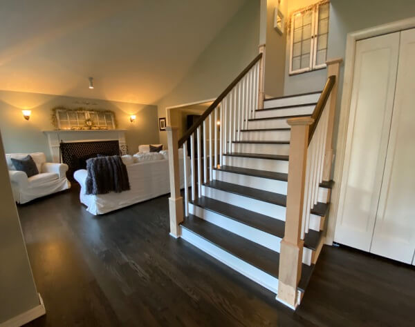 Hardwood Stairs Wood Stair Treads, Can You Put Hardwood Flooring On Stairs